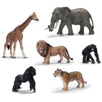 Figurines réalistes d'animaux Schleich: Parce que ces figurines sont de qualité, tiennent debout contrairement à celles du Dollo, et sont extrêmement détaillées, ils font d'excellents jouets éducatifs et durables.