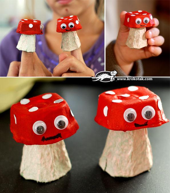 Des champignons!