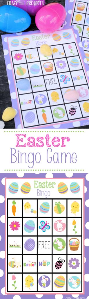 Bingo de Pâques à imprimer <3