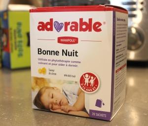 Tisane à la camomille pour  enfants de 2 ans et plus