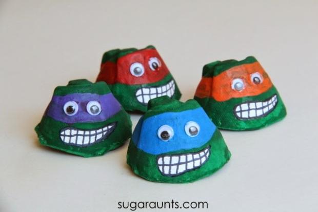 Des Ninja Turtles! Kawabongaaa!