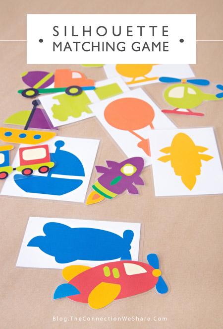 Jeu d'associations formes-objets. Super blog: http://blog.theconnectionweshare.com/