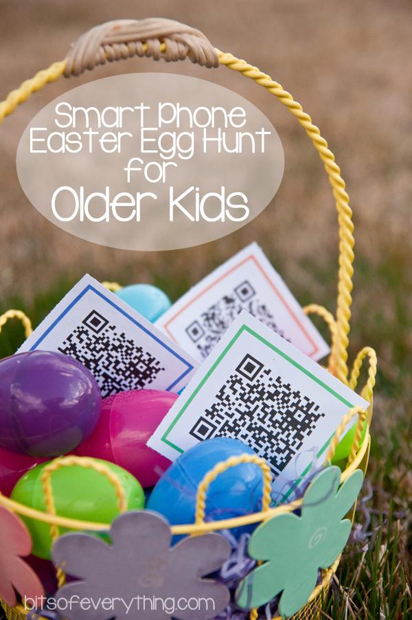 Pour les adultes et plus vieux, chasse aux cocos avec des QR Codes! Haha