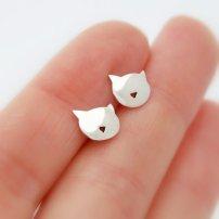 Boucles d'oreilles au petit nez!