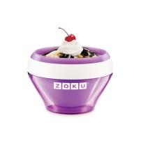 De la crème glacée rapido, sur mesure, qui goûte ce qui vous tente? Possible aussi! Même qu'il y a plusieurs accessoires en vente pour écrire LOL dedans oubedon les tremper dans le chocolat. http://www.zokuhome.com/collections/all/products/ice-cream-maker