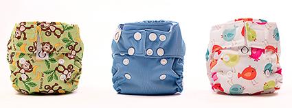 Les toutes petites Mini-Ö, pour bébés naissants et prématurés (oui, elles font la paix avec le 'ti boutte de cordon séché).