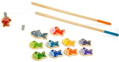Jeu de pêche aimanté de Janod. 29,99$ chez Renaud-Bray. Lien: http://www.renaud-bray.com/Jeux_Produit.aspx?id=1035506&def=P%C3%AAche+%C3%A0+la+ligne%2cJ03062