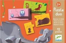 Puzzle de paires mamans-bébés de Djeco. 14,99$ chez Renaud-Bray. Lien: http://www.renaud-bray.com/Jeux_Produit.aspx?id=1107395&def=Puzzle+duo+Mamans+et+b%C3%A9b%C3%A9s%2cDJ08157