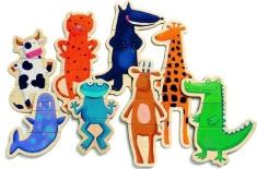 Animaux aimants à assembler de Djeco (j'aime beaucoup trop Djeco). 26,99$ chez Renaud-Bray. Lien: http://www.renaud-bray.com/Jeux_Produit.aspx?id=734936&def=Crazy+animaux+24mcx%2cDJ03111