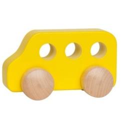Voiture en bois, super à mâchouiller, de Hape. 11$ chez Mère-Hélène. Lien: https://www.merehelene.com/fr/Produit-18414-Hape-Voiture-en-bois-Autobus